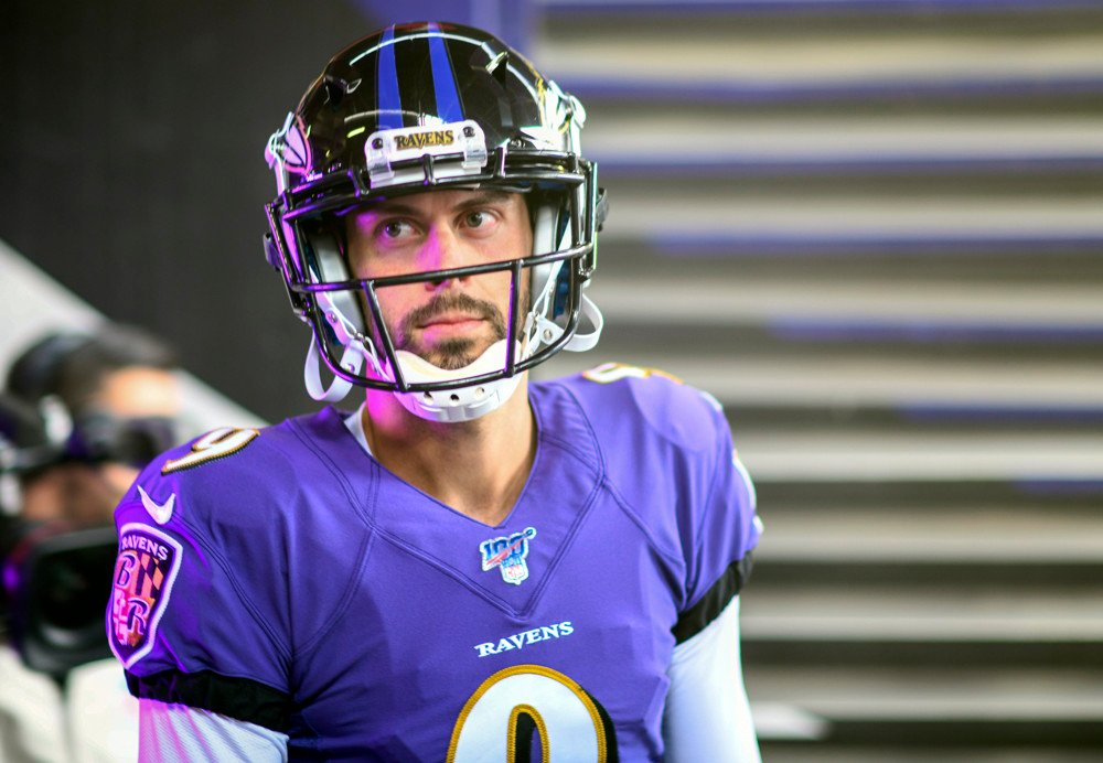 Justin Tucker is our top ranked fantasy football kicker